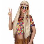 Médaillon hippie métal