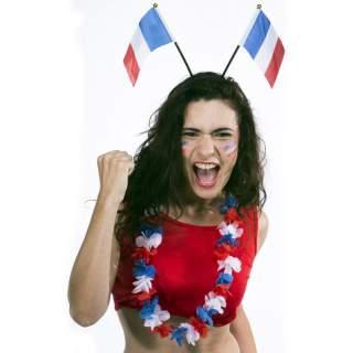 Serre-tête drapeaux français