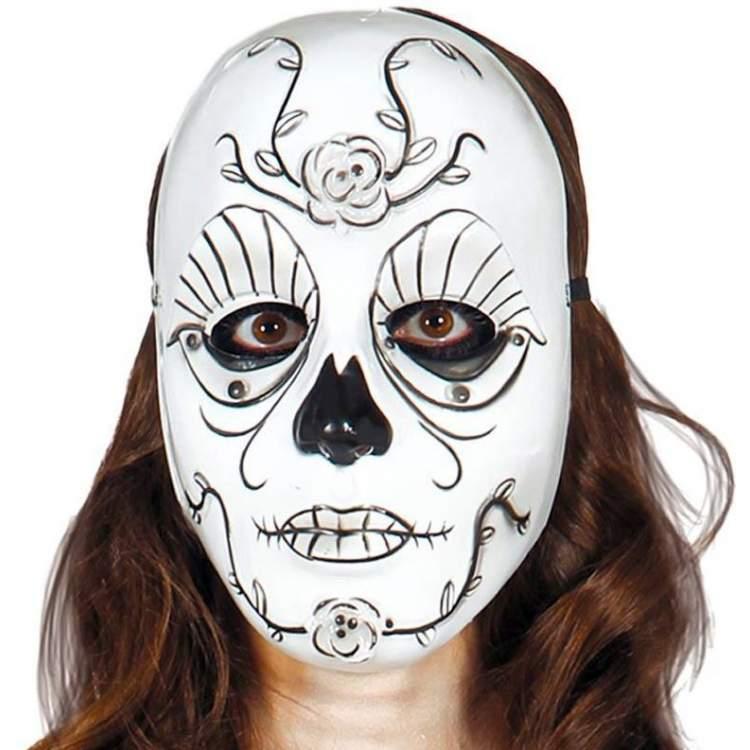Masque blanc d cor m ga f te for Decorer un masque blanc