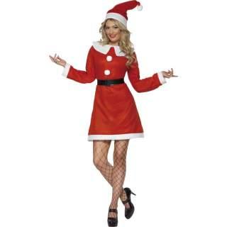 Déguisement Miss Santa éco