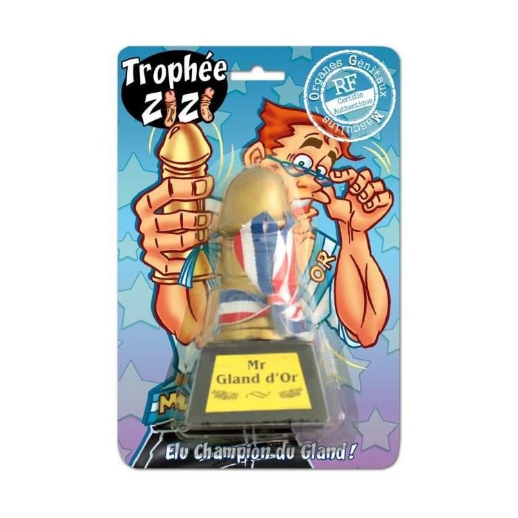 Trophée zizi Mr Gland d\u0027Or
