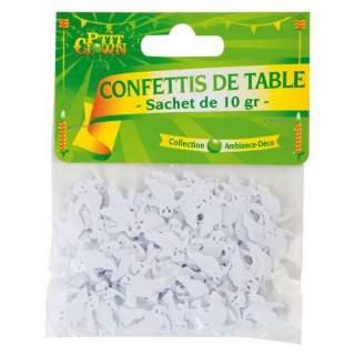 Confettis de table fantômes