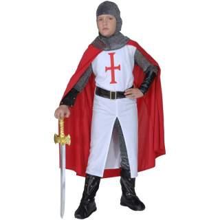 Déguisement chevalier croisé enfant